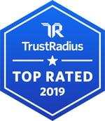 2019 TrustRadius Top Rated Badge