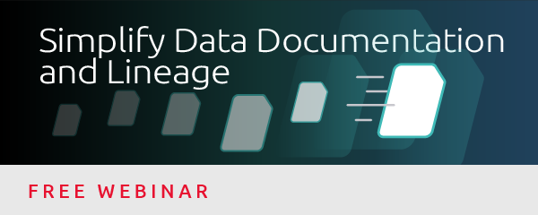 Simplify Data Documentation & Lineage